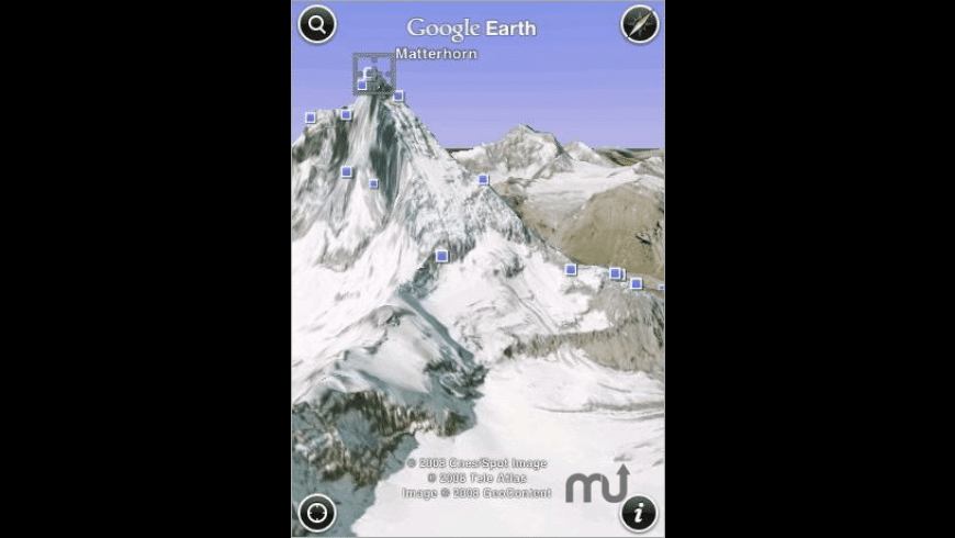 Google Earth for iPhone for Mac - review, screenshots