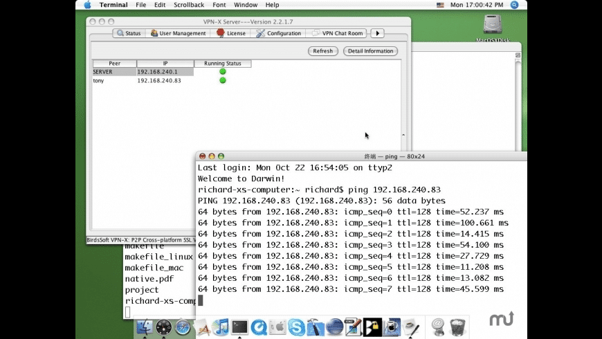 VPN-X Server for Mac - review, screenshots