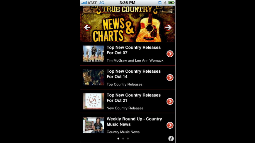 True Country for Mac - review, screenshots