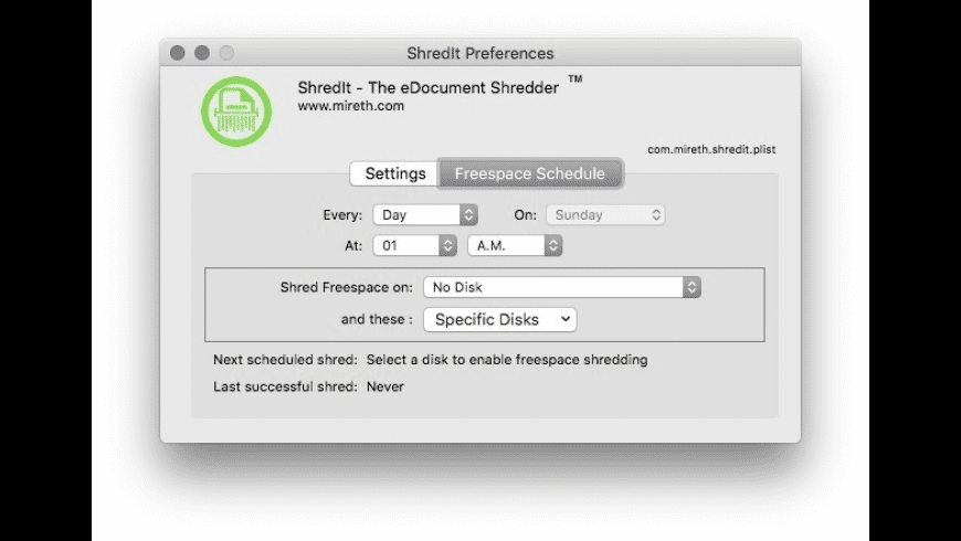 ShredIt X for Mac - review, screenshots