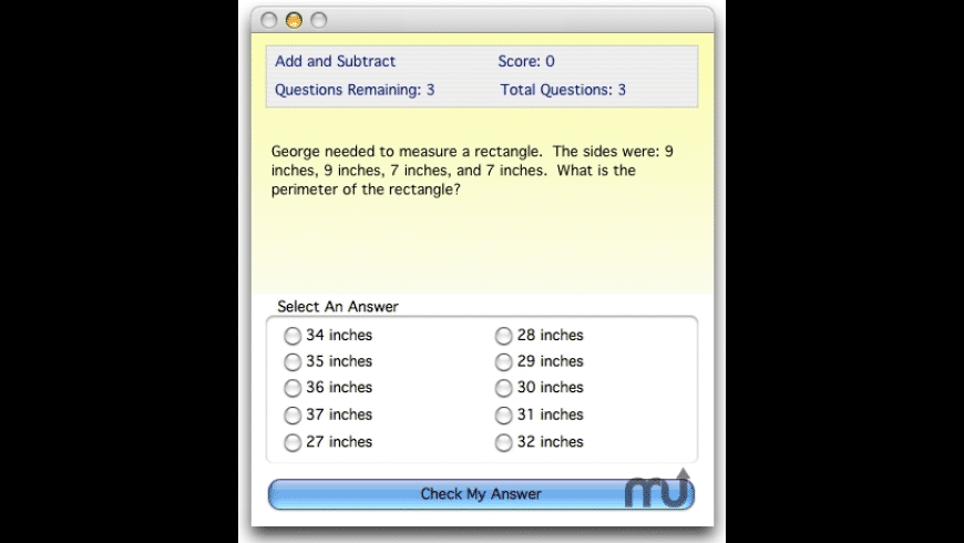 Master Math Word Problems for Mac - review, screenshots