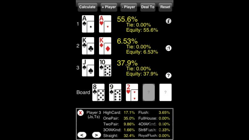 PokerCruncher-iPhone for Mac - review, screenshots
