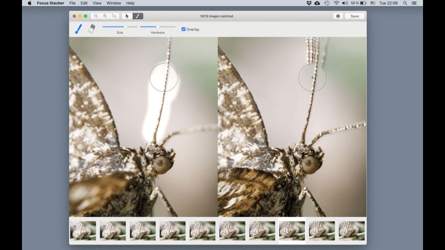 Focus Stacker for Mac - review, screenshots