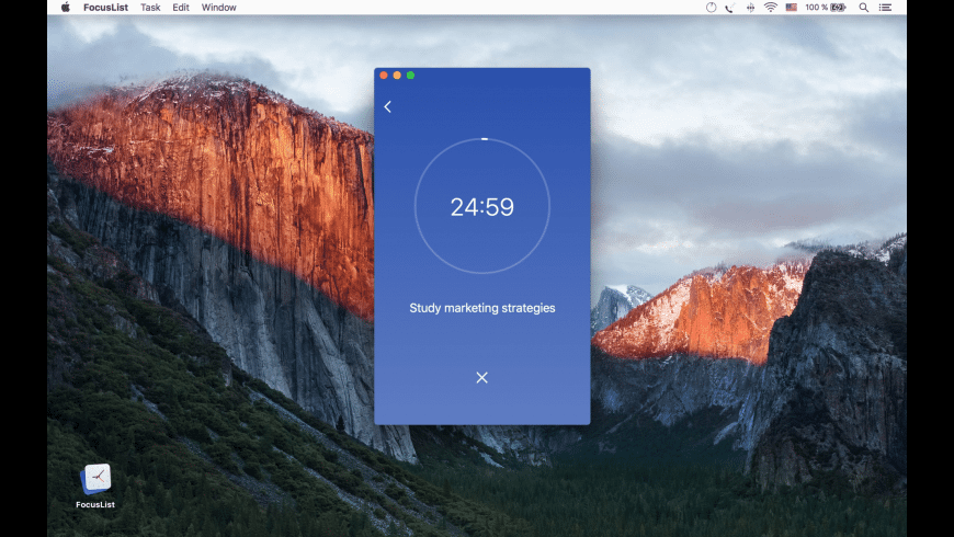 FocusList for Mac - review, screenshots