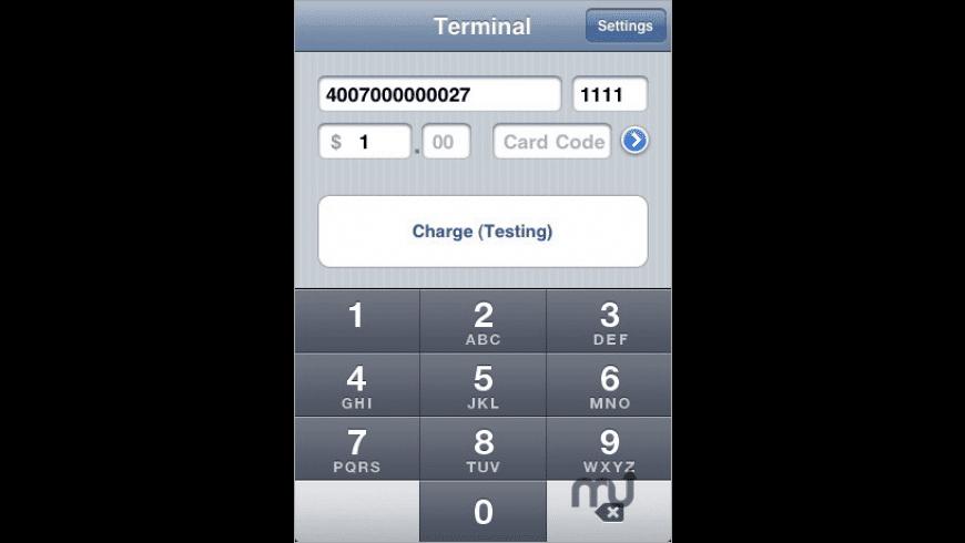 Credit Card Terminal for Mac - review, screenshots
