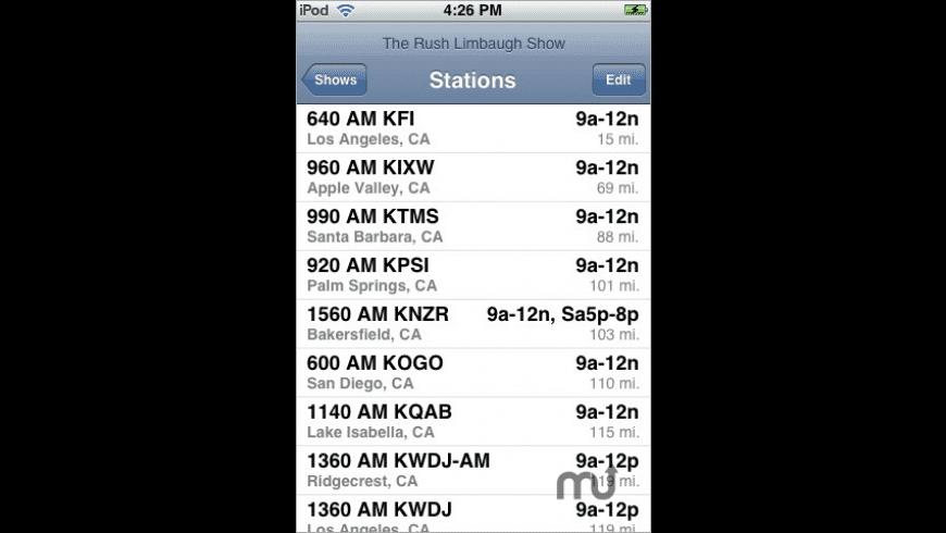 Talk Radio for Mac - review, screenshots