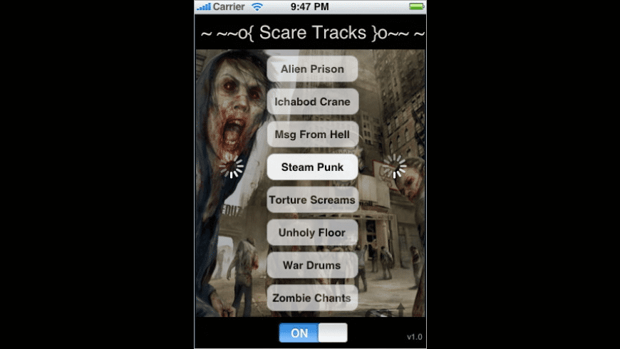 Scare Tracks for Mac - review, screenshots