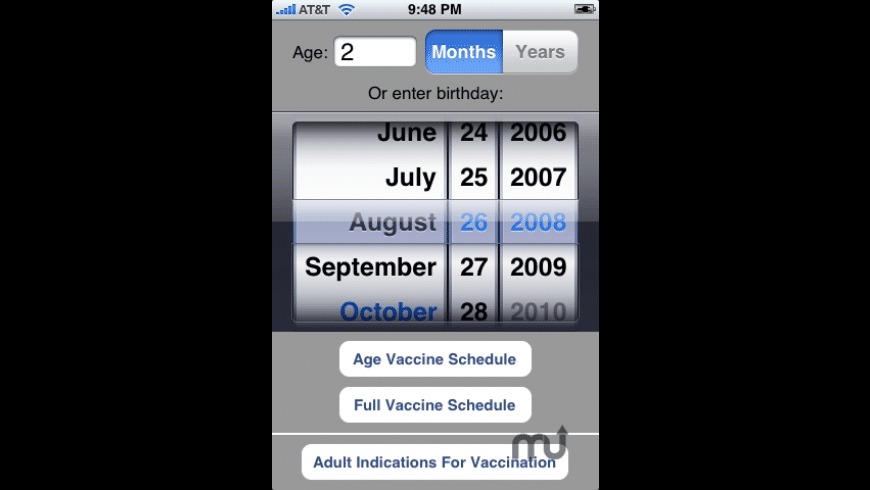 Vaccines for Mac - review, screenshots