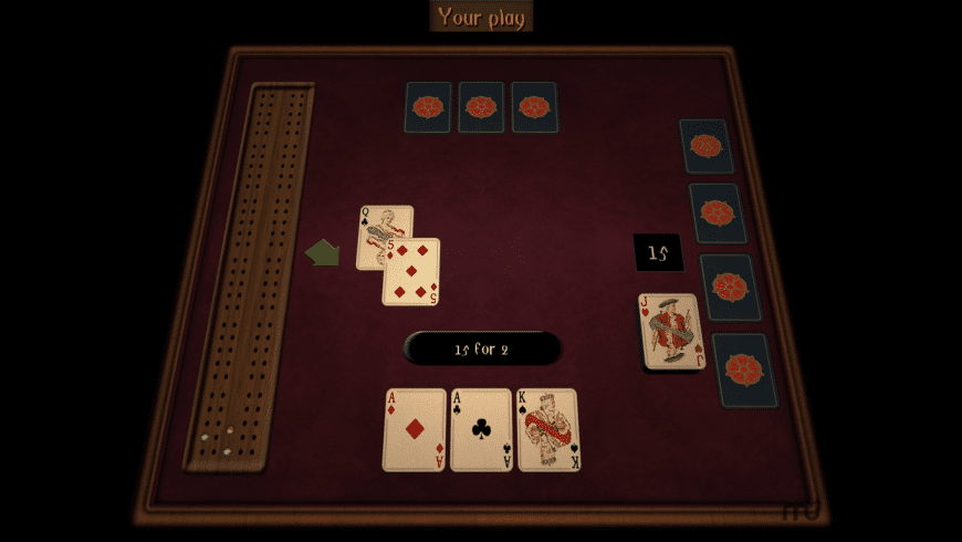 GrassGames Cribbage for Mac - review, screenshots