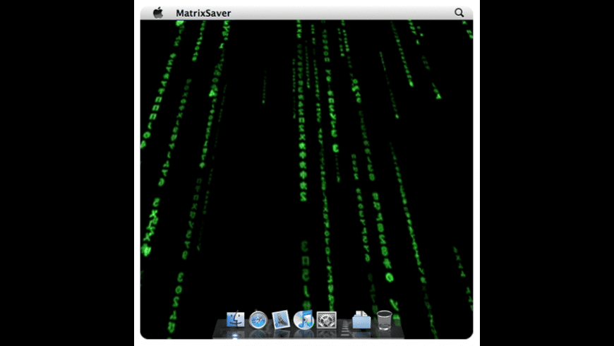MatrixSaver for Mac - review, screenshots