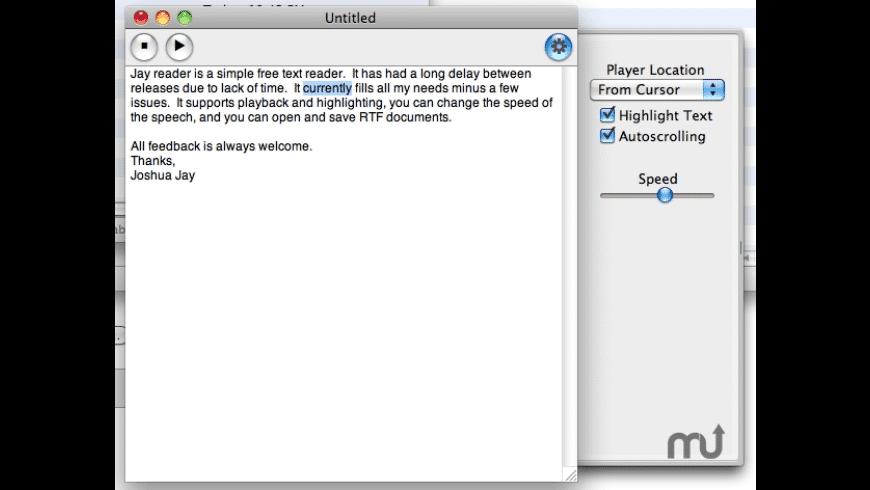 JayReader for Mac - review, screenshots