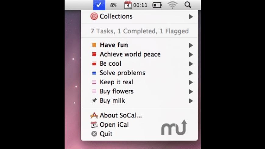 SoCal for Mac - review, screenshots