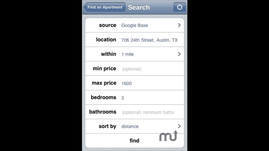 Find an Apartment for Mac - review, screenshots