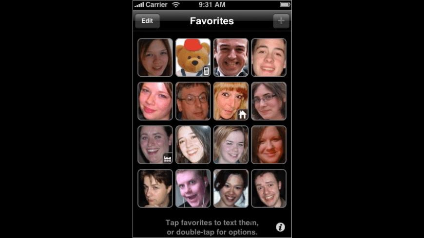 Favorites for Mac - review, screenshots