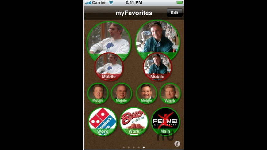 myFavorites for Mac - review, screenshots
