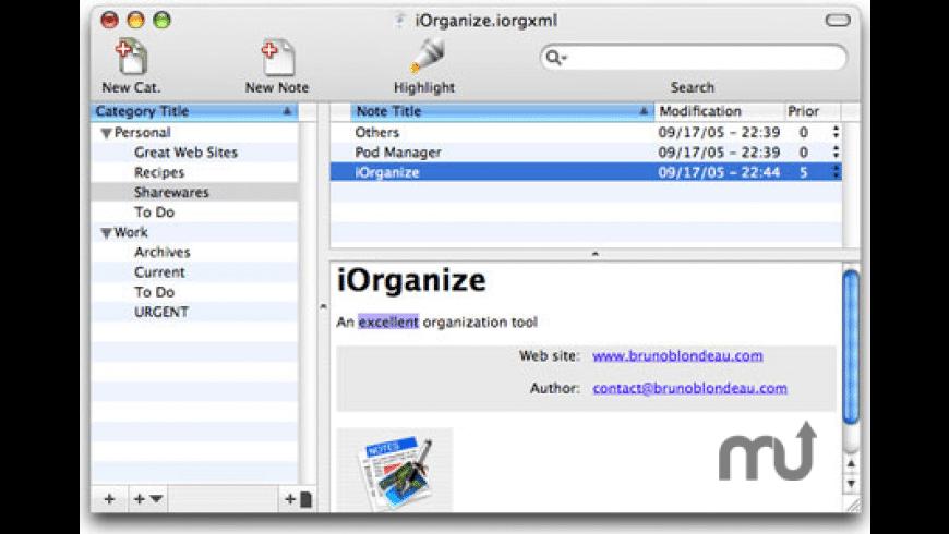 iOrganize for Mac - review, screenshots