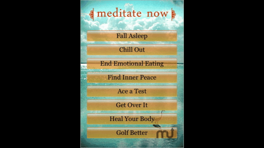 Meditate Now! for Mac - review, screenshots