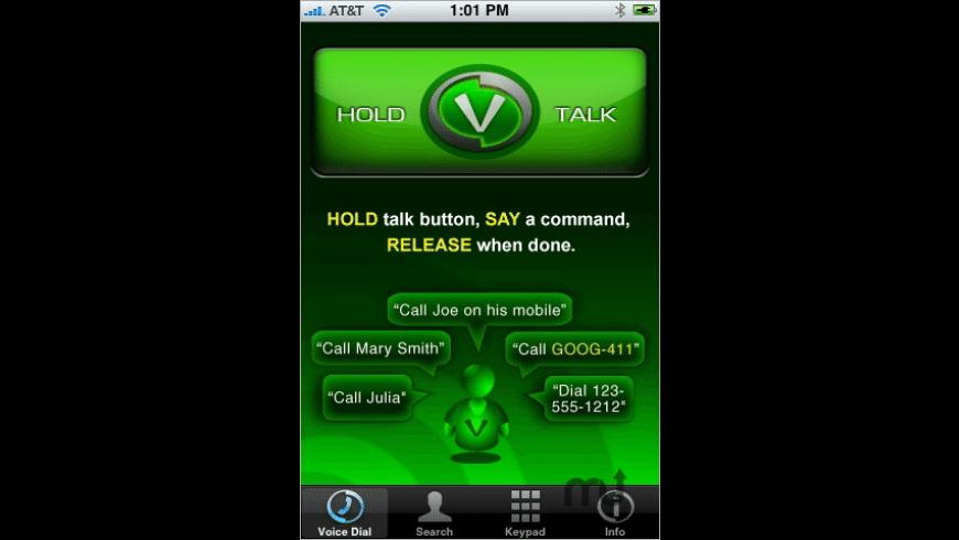 VoiceBox Dialer for Mac - review, screenshots