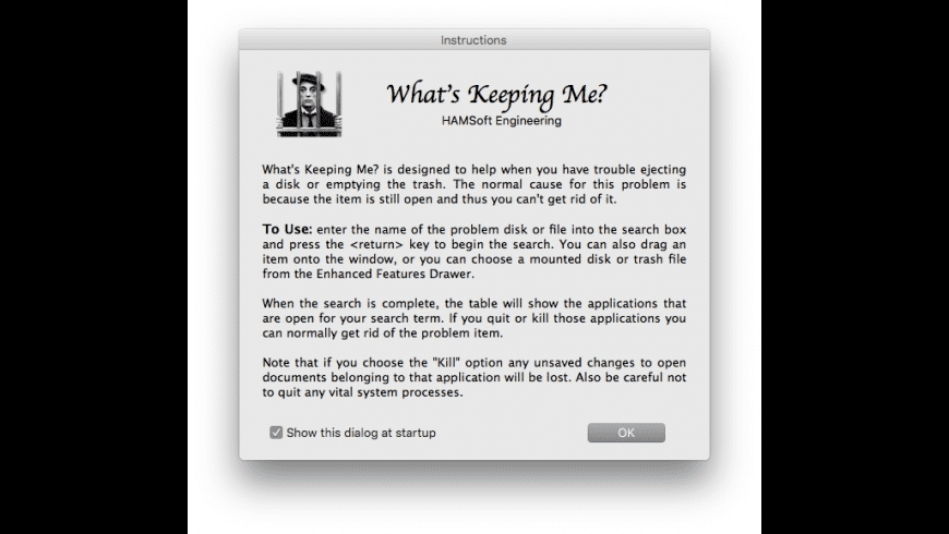 What's Keeping Me for Mac - review, screenshots