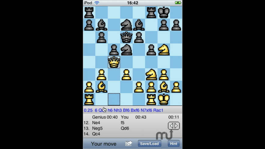 ChessGenius for Mac - review, screenshots