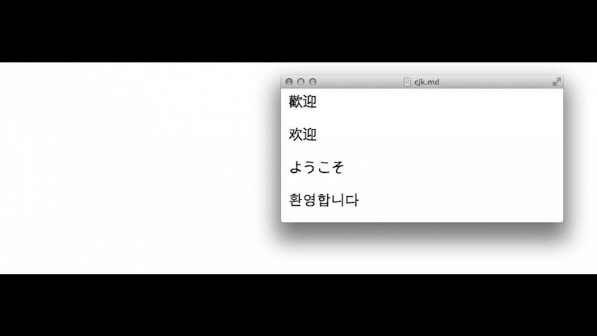 Mou for Mac - review, screenshots