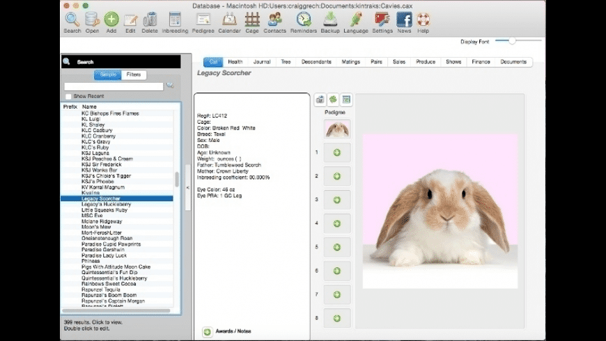 Animal Breeder for Mac - review, screenshots