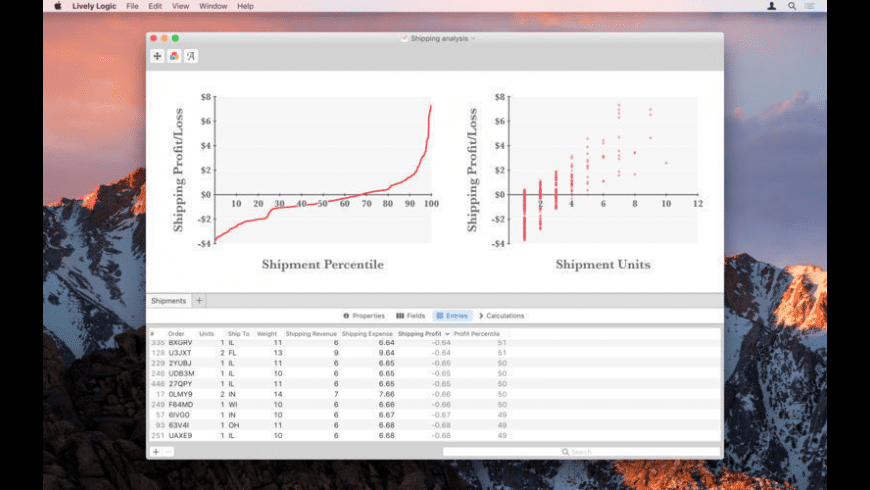 Lively Logic for Mac - review, screenshots