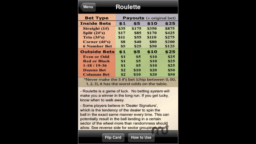 Casino Strategies for Mac - review, screenshots