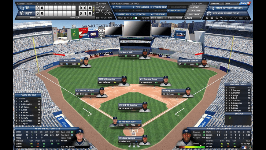 OOTP Baseball for Mac - review, screenshots