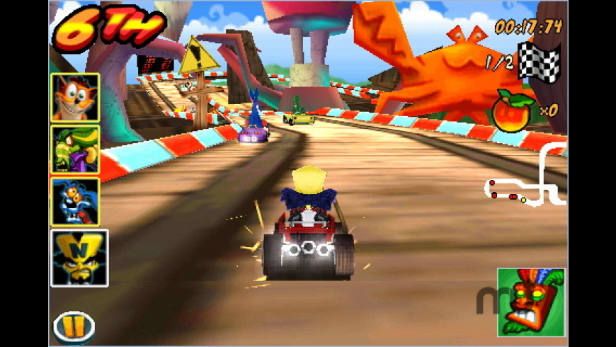 Crash Bandicoot Nitro Kart 3D for Mac - review, screenshots