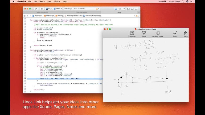 Linea Link for Mac - review, screenshots