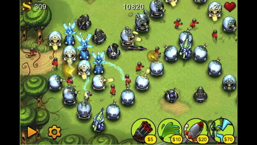 Fieldrunners for Mac - review, screenshots