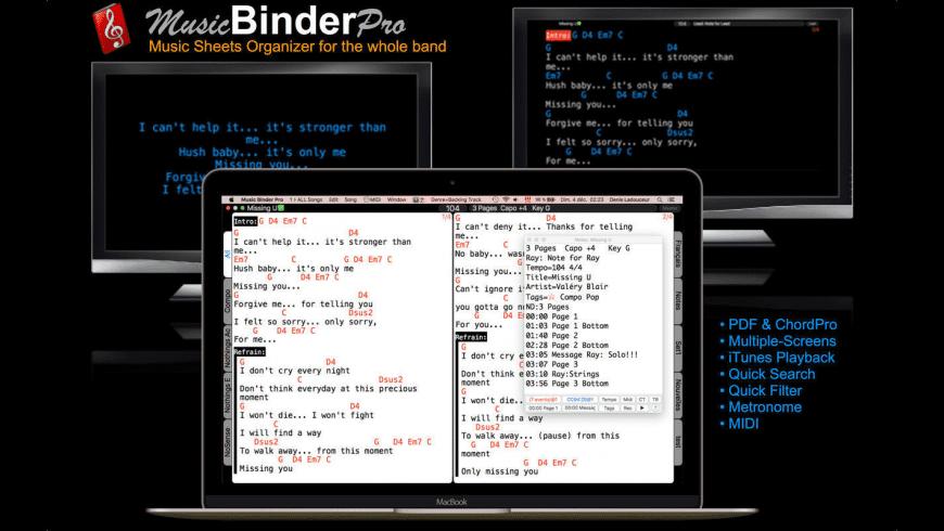 Music Binder Pro for Mac - review, screenshots