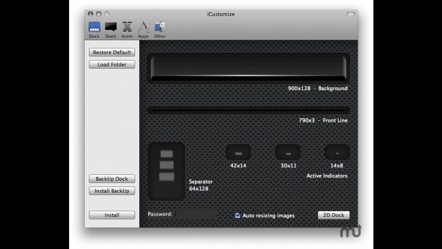 iCustomize for Mac - review, screenshots