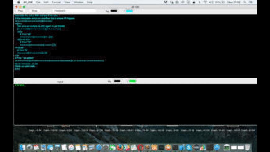 BF IDE for Mac - review, screenshots