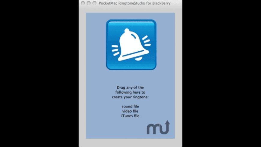 PocketMac RingtoneStudio for BlackBerry for Mac - review, screenshots