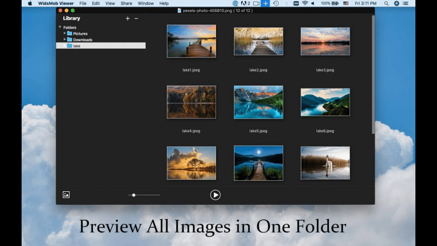 WidsMob Viewer for Mac - review, screenshots