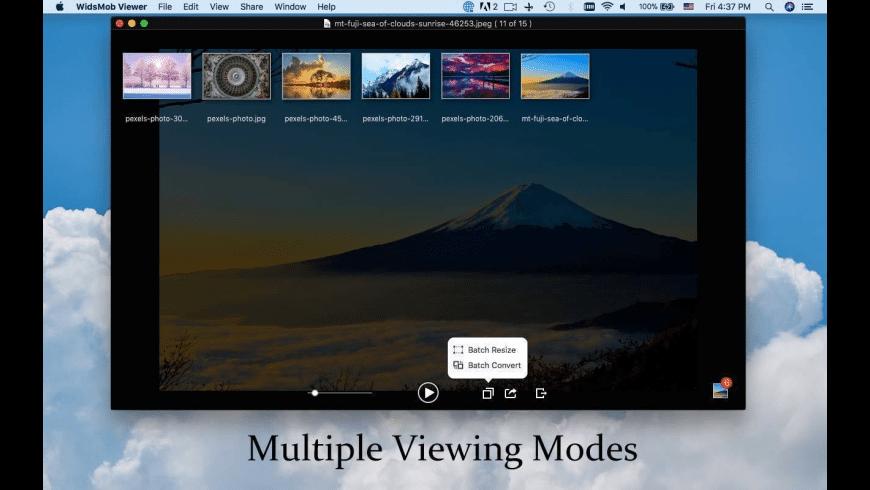 WidsMob Viewer for Mac - review, screenshots
