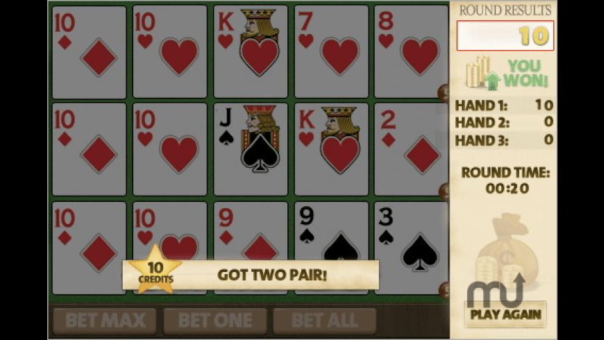 Triple Play Poker for Mac - review, screenshots