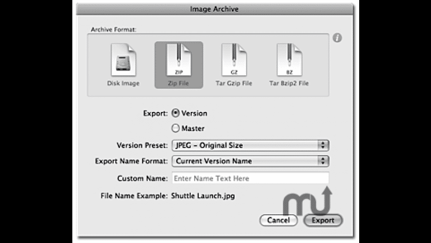 ImageArchiver for iPhoto for Mac - review, screenshots