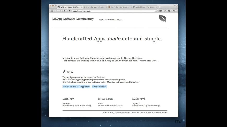 Browser for Mac - review, screenshots