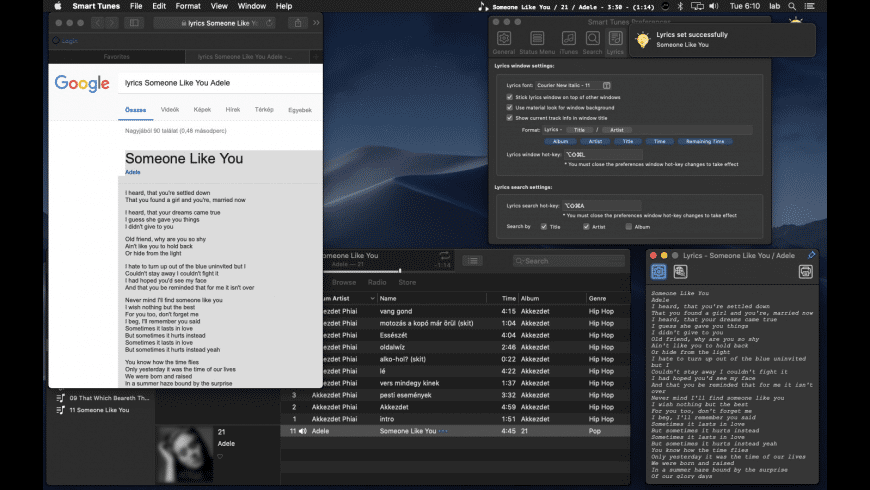Smart Tunes for Mac - review, screenshots