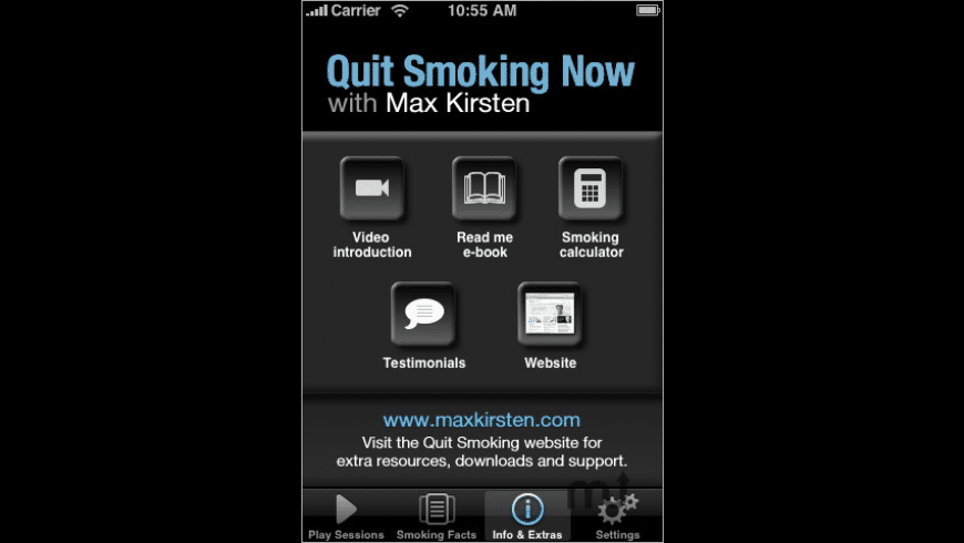 Quit Smoking Now with Max Kirsten for Mac - review, screenshots