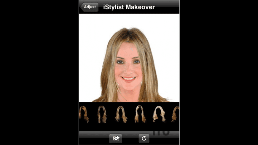 iStylist Makeover for Mac - review, screenshots