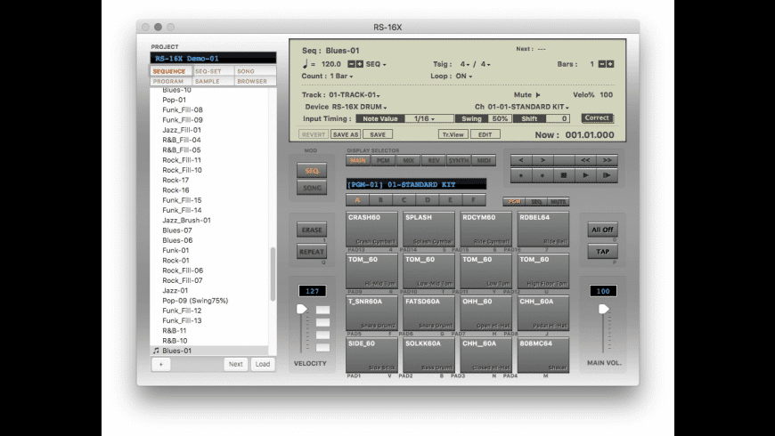 RS-16X for Mac - review, screenshots