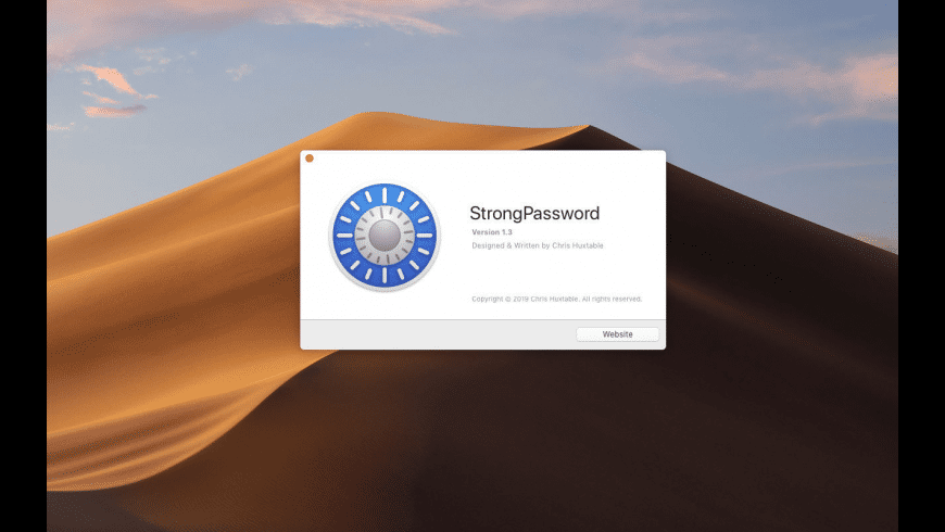 StrongPassword for Mac - review, screenshots