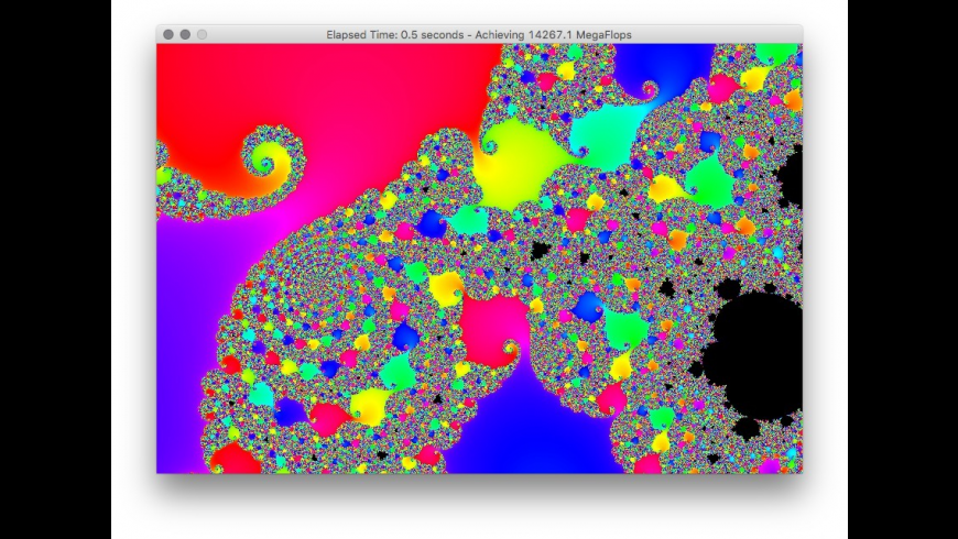 Power Fractal for Mac - review, screenshots