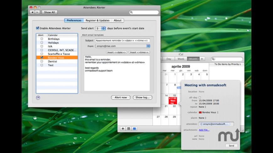 AttendeesAlerter for Mac - review, screenshots