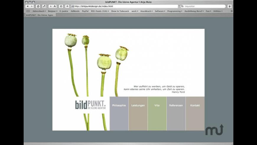 Usine Theme for Mac - review, screenshots