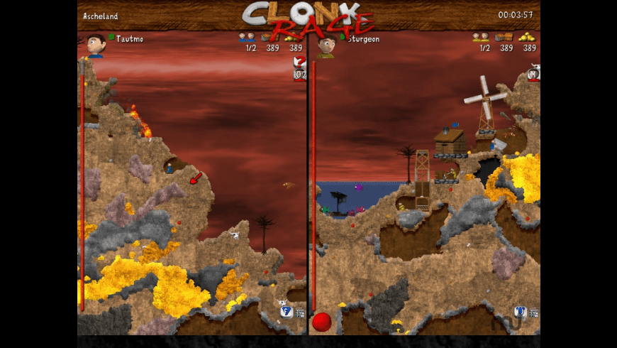 Clonk Rage for Mac - review, screenshots